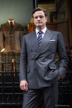 Colin Firth and HUNTSMAN for Kingsman: The Secret Servicehttp://theclassicsewing.tumblr.com
