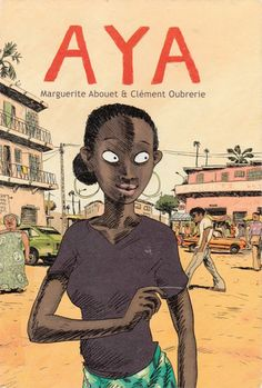 Ivory Coast, Africa. A graphic novel that breaks the stereotypes of what a teen growing up in Africa experienced.