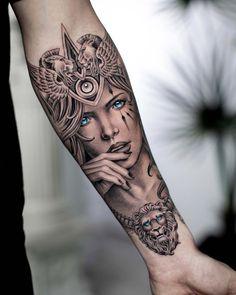 Best Leg Tattoos, Leg Tattoo Men, Sleeve Tattoos For Women, Arm Tattoos For Guys, Life Tattoos, Body Art Tattoos, Tatoos, Arm Tattoos Color, Color Tattoo