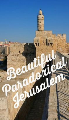 Jerusalem has been described as an onion with many layers. To me it is the collision of paradoxical elements that join to create an intriguing city. This is one city that should be on every travelers bucket list. Find out why I fell in love with beautiful paradoxical Jerusalem.