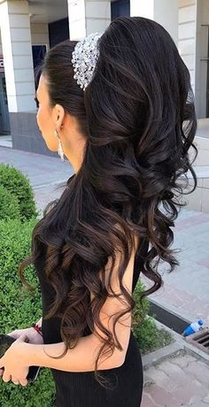 Pin of my hairstyles on hairstyles in 2018 Pin of my hairstyles on hairstyles . - - Pin mijn kapsels op kapsels in 2018 Pin mijn kapsels op kapsels Wedding Hairstyles For Long Hair, Wedding Hair And Makeup, Bride Hairstyles, Pretty Hairstyles, Bridal Hair, Hair Makeup, Love Hair, Big Hair, Gorgeous Hair