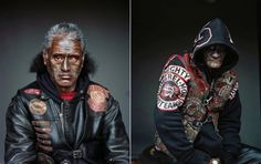 Jono Rotman, Largest Gang Portraits from New Zealand – Fubiz Media City Gallery, Mongrel, Portraits, New Media, New Zealand, Pop Culture, Portrait Photography, Punk, Superhero