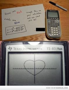 This is for all you math majors out there