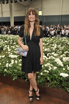 Caroline de Maigret - Front Row At Dior Men's Spring 2016