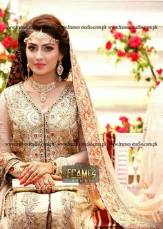 Ayeza khan on her Valima