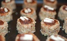 Picture of Recept - Dortíčky - nejen vánoční Czech Desserts, Ice Cream Candy, Cake Cookies, No Bake Cake, Christmas Cookies, Nutella, Deserts, Muffin, Food And Drink