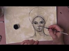 Find Out Fridays | Olga Furman : Part 1 - YouTube Excellent painting of a face.