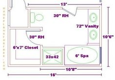 Plans On Pinterest Bathroom Floor Plans Floor Plans And Master Bathrooms