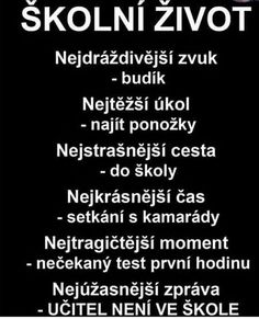 #škola Words Can Hurt, Weird Words, Jokes Quotes, Life Quotes, Funny Quotes, Funny Images, Funny Pictures, Some Jokes, Story Quotes