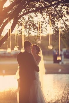 Design a dreamy wedding atmosphere with candles