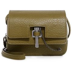 Carven - Malher Grained Leather Mini Crossbody Bag (6.533.170 IDR) ❤ liked on Polyvore featuring bags, handbags, shoulder bags, crossbody shoulder bag, mini shoulder bag, handbag purse, man bag and brown shoulder bag