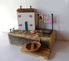 Driftwood Cottage, Fisherman's Cottage,Reclaimed wood art,Driftwood Houses