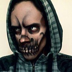 Männer-Make-up für Halloween