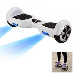 #hoverboard Self Balancing Eco - friendly Electric Scooter, $289.99 and Free Shipping