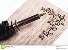 Pyrography - Download From Over 53 Million High Quality Stock Photos, Images, Vectors. Sign up for FREE today. Image: 40135567