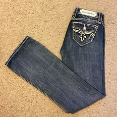 Women's rock revival boot cut jeans,Jamila size 27 These jeans are like new, worn only a few times Rock Revival Jeans Boot Cut