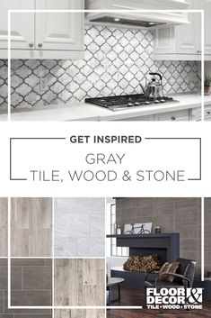 Today's gray can be shiny or matte modern or classic and used in a variety of patterns and textures. Today's gray can be shiny or matte modern or classic and used in a variety of patterns and textures. Kitchen Redo, Kitchen Backsplash, New Kitchen, Kitchen Remodel, Kitchen Ideas, Backsplash Ideas, Kitchen Styling, Kitchen Storage, Cuisines Design