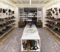 Joseph Cheaney flagship store by Checkland Kindleysides, London – UK » Retail Design Blog