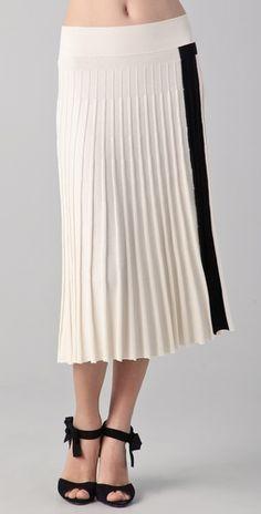 Classic skirt.