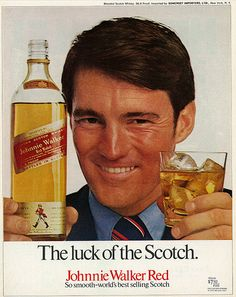 1971 Johnnie Walker Red Scotch Ad