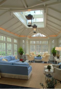 Different color scheme, but amazing family room