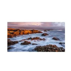 "Trademark Art ""Kerry Sunset Ireland"" by Pierre Leclerc Photographic Print on Wrapped Canvas Size:"