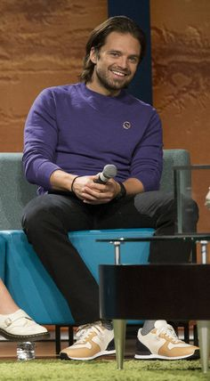 why is everyone Photoshopping him in a purple shirt tho