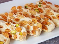 You searched for Nougat Easy Baking Recipes, Dutch Recipes, Sweet Recipes, Cooking Recipes, Candy Recipes, Dessert Recipes, Dinner Recipes, Enjoy Your Meal, Delicious Desserts