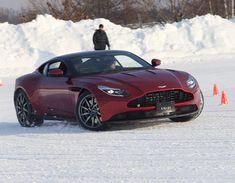The thrill of Aston Martin... with a winter twist ❄️ : Hokkaido On Ice 2018 #AMArtOfLiving