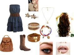 """""""Country girl style"""" by trisha-lousie-kieley ❤ liked on Polyvore  ♥♥♥♥ this outfit! Forth of july outfit for sure!"""
