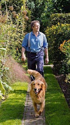 Beautiful Dogs, Beautiful Gardens, Monty Don Longmeadow, Longmeadow Garden, Lost Garden, British Garden, Adventure Time Finn, Cartoon Network Adventure Time, Herefordshire