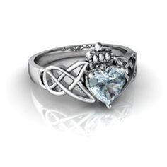 celtic claddagh ring - I absolutely adore this!