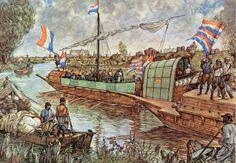 Ontzet van #Leiden, 3 oktober 1574 | #Schoolplaat #Isings