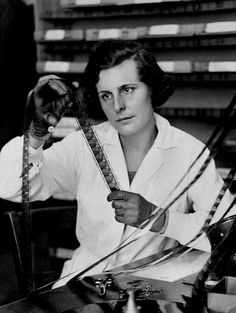 Leni Riefenstahl (1902-2003) film director known for directing the Nazi propaganda film Triumph of the Will (ca. 1934). Riefenstahl's prominence in the Third Reich, along with her personal association with Adolf Hitler, destroyed her film career following Germany's defeat in World War II, after which she was arrested but released without any charges.