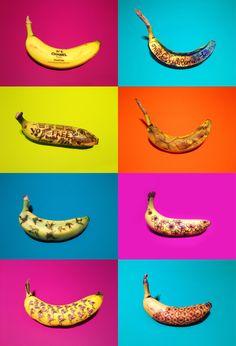 Banana Graffiti Series by Marta Grossi