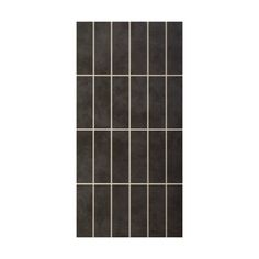 Featuring a gorgeous and rich stone effect finish, divided into a mosaic pattern, why not add some natural style to your home with these tiles from our Canvas range.  The dark and atmospheric charcoal shade is ideal for monochrome colour schemes, and these rectangular wall tiles can be complemented with floor tiles from the same range, for a flowing style. #Tiles #Bathroom #Interiors