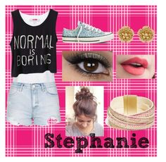A typical outfit for Stephanie