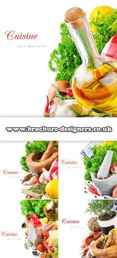 cuisine image suitable for food brochure www.brochure-designers.co.uk #foodbrochure #cuisine #condiments Brochure Food, Pasta Salad, Organic, Fruit, Brochures, Ethnic Recipes, Ali, Royalty, Designers