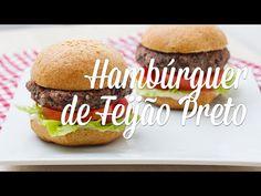 Hambúrguer de Feijão Preto