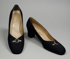 Pair of Woman's Pumps. United States, circa 1969. David Evins; I. Magnin & Co., Los Angeles, California | LACMA Collections