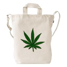 Weed Canvas tote bag
