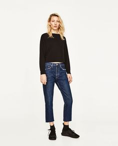 ZARA - SALE - T-SHIRT WITH SIDE BANDS