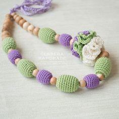 25% XMAS SALE Nursing necklace Breastfeeding от GerberaHandmade