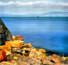 Calm In Balaton Lake