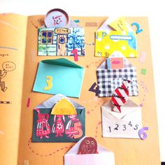 adorable; more mini envelope inspiration | hello sandwich