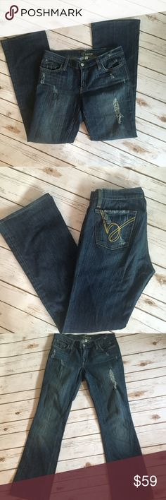 Size 29 bebe distressed jeans Size 29 bebe distressed jeans. EUC. bebe Jeans