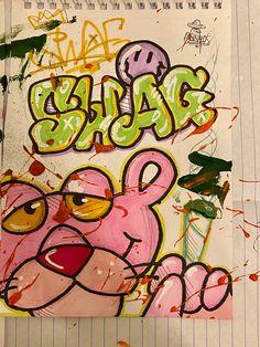 Graffiti Doodles, Graffiti Drawing, Graffiti Lettering, Cool Art Drawings, Art Sketches, Arte Hippy, Drawings Pinterest, Graffiti Designs, Grunge Art