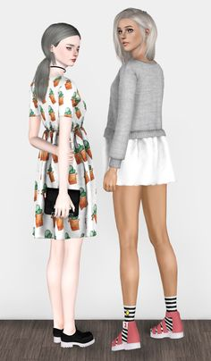 """j-urassica: """" CLEAN LINES Collection: -Collab collection with the wonderful and amazing @spectacledchic . -Variety of mix and match clothes,shoes,accessories and poses. -All items have custom..."""