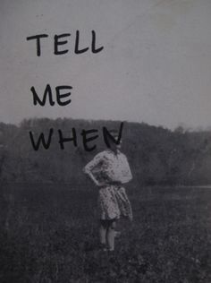 tell me cuando