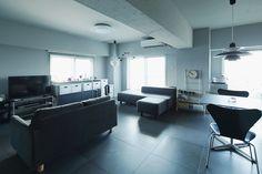 隅田川を望むモノトーンの空間 | 入居者インタビュー | みんなで考える住まいのかたち | MUJI HOUSE VISION